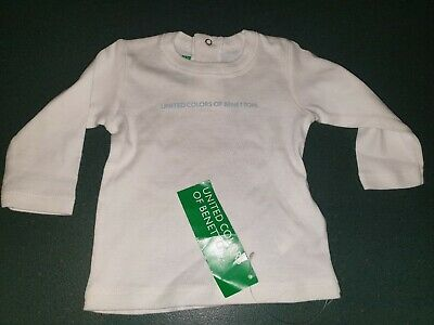 ** UNITED COLORS OF BENETTON Baby Top Size 3 Months  - New **