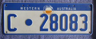 Post 1996 License/Number Plate # C.28083