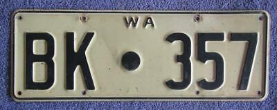 1968-78 Shire License/Number Plate # Bk.357