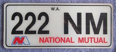 Corporate License/Number Plate # 222 Nm