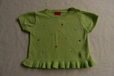 ESPRIT girls knit beaded top size 12 months - $3 post offer