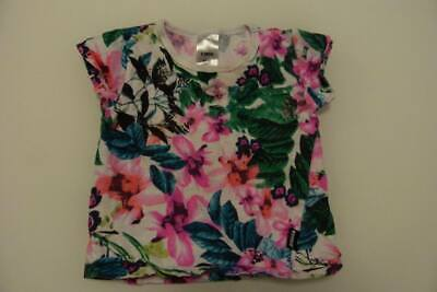 BONDS girls floral top size 000 - $3 post option