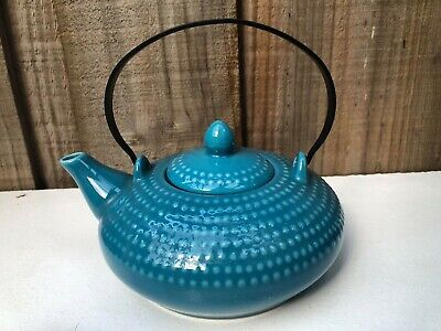 Maxwell Williams JOZO Japanese Inspired Blue Teapot with Infuser