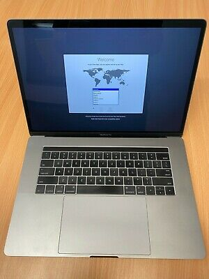 "Apple MacBook Pro MLH32LL/A 15.4"" 256GB Laptop with Touch Bar ( 2016, Space..."