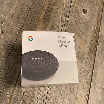 Google Home Mini Assistant  Smart Small Speaker - Charcoal -  BRAND NEW