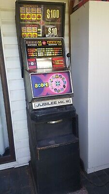 Poker Machine  Old School One Armed Bandit  Lights etc are all working.😉