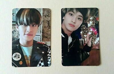 NCT # 127 Neo Zone Official Photocard Photo card N & C Mark set (2pcs)