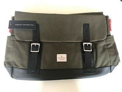 """French Connection Men's """"Chaz"""" Messenger Bag. Brand New With Tags. Rrp £75"""