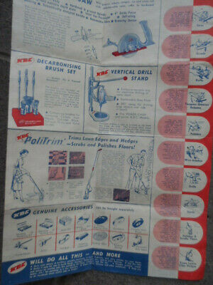 Kbc Power Chief All Purpose Tool Kit Brochure-1950'S