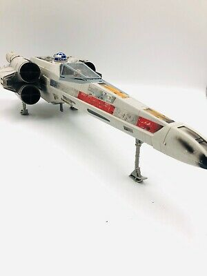 1998 Star Wars Large X-Wing Fighter Hasbro Toy Space Ship Plane Luke R2D2