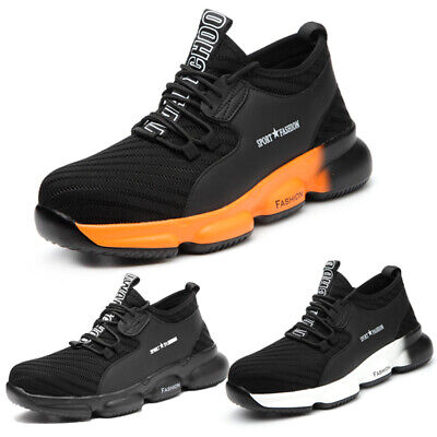Men's Safety Shoes Work Trainers Steel Toe Boots Sports Hiking Shoes Sneakers