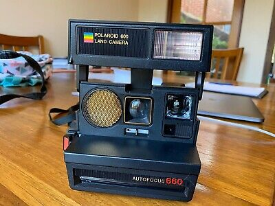 Polaroid 660 Land Camera Tested Excellent