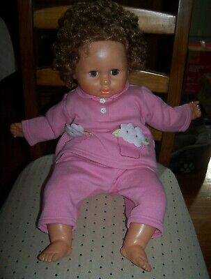 "1960's BABY DOLL - 24"" HEIGHT - NEEDS SMALL REPAIR"