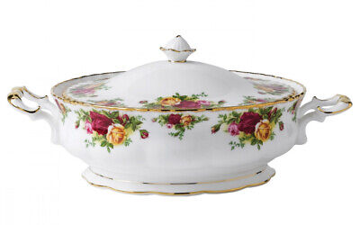 Royal Albert - Old Country Roses - Covered Veg Dish/Tureen - Made in England.