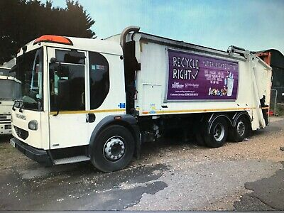 DENNIS REFUSE TRUCK 2011 6x2 OUT OF TEST RUNNING AND DRIVING SPARES OR REPAIR