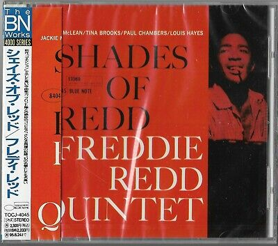 Freddie Redd Quintet ‎– Shades Of Redd BLUE NOTE JAPAN CD Jackie McLean SEALED