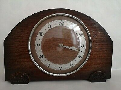 Wooden Mantle clock Old English - wind up mechanism does not chime or strike