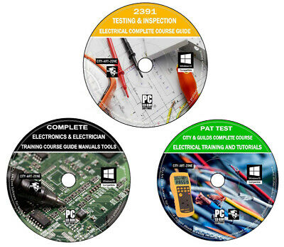 Pat Test Testing City /& Guilds 2931 Electrical /& Electronics Complete Course