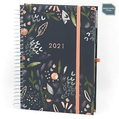 Boxclever Press 2020 - 2021 Life Book Diary. A5 Organiser. Week-to-view layout.