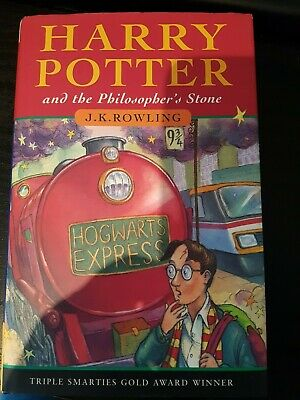 Harry Potter Philosophers Stone HB Bloomsbury 1st First Edition 32nd print Rare