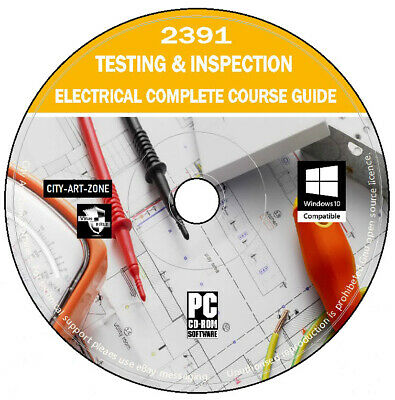 2391 TestIng And Inspection Electrical Study Course Teaching Exam Questions DVD