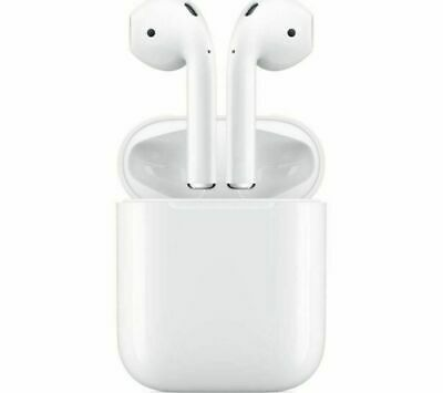 New APPLE AirPods 2 with Charging Case 2nd generation White Free Shipping to UK