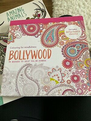Bollywood 70 designs to help de-stress (Colouring for Mindfulness)