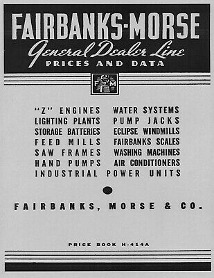 Fairbanks Morse Catalog  1935