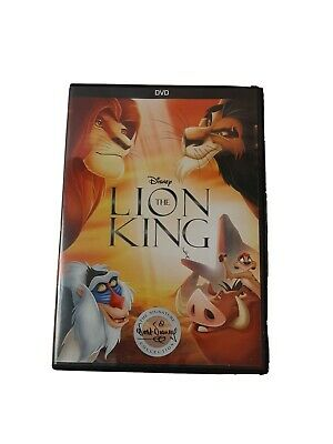 The Lion King DVD Walt Disney Signature Collection