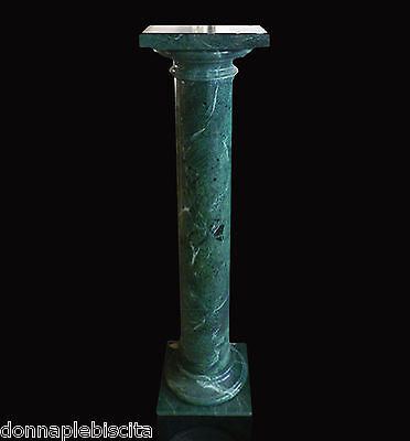 Column Marble Green Alps Green Classic Marble Column Home Design Made in Italy