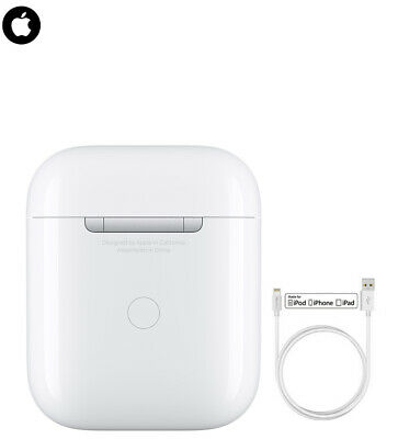 Apple Airpods Charging Case Genuine  For 1st and 2nd Gen Airpods + Cable A1602