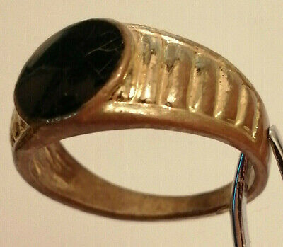 FABULOUS Ancient Bronze Ring ARTIFACT QUALITY