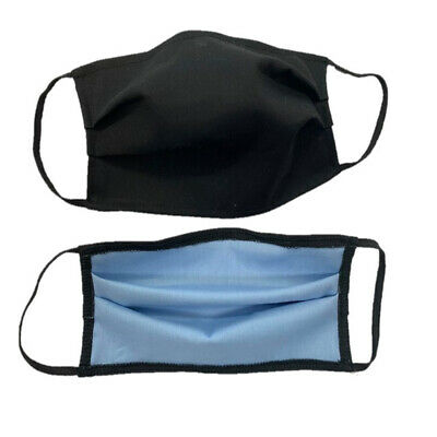 Reusable Anti Dust Face Protector Cover Shields Washable Unisex Double Layer NEW