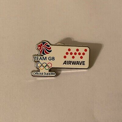 Airwave Team GB London 2012 Olympic Pin Badge Official Supplier