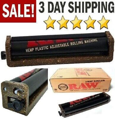 110mm Joint Rolling Machine Fast RAW Roller Cigar Cigarette Weed King Size 2-way