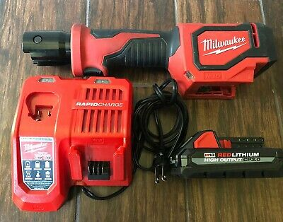 Milwaukee M18 2674-20 Short Throw Press Tool With Battery and Charger Free Ship