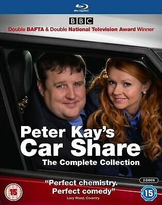 Peter Kay's Car Share The Complete Collection Blu Ray New & Sealed