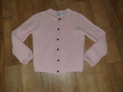 Girls Marks & Spencer Pink Cardigan.....age 4-5 years