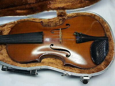 Pre-WWI German Lowenthal Dominicus Montagnana copy 4/4 Violin and Meisel bow