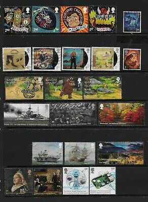 1) GB Stamps 2019 1st/2nd Class From Multi Value sets 23 Stamps. Good used.