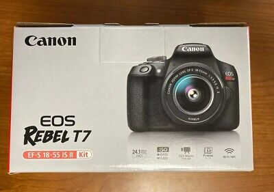Canon EOS Rebel T7 24.1 MP  BRAND NEW/UNUSED