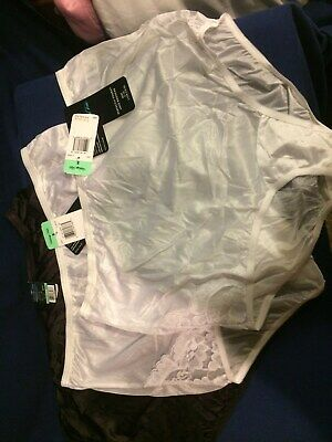 3 VANITY FAIR Briefs PERFECTLY YOURS NWT 13001 Panty 2 STAR WHITE1 bk 8XLreduced