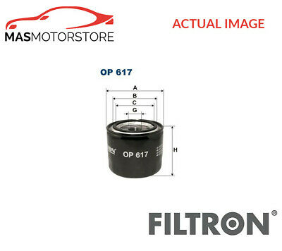 Engine Oil Filter Filtron Op617 G New Oe Replacement