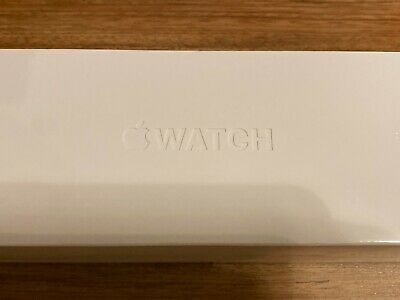 NEW Apple Watch Series 5 44mm Space Gray Case Black Band - (MWVF2LL/A)