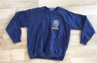 NYPD jumper youth size 12