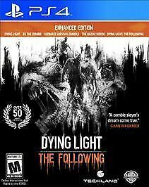 Dying Light The Following PS4 Enhanced Edition (Sony PlayStation 4, 2016)