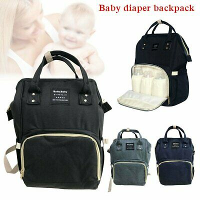 Large Multifunctional Baby Diaper Nappy Backpack Mummy Changing Bag