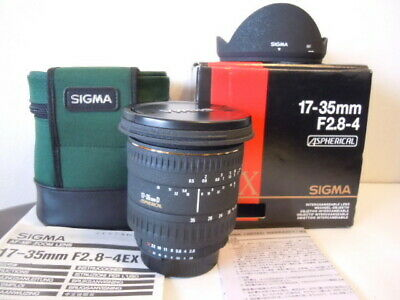 【NEAR MINT】SIGMA 17-35mm F2.8-4 EX ASPHERICAL Nikon Mount  From JAPAN