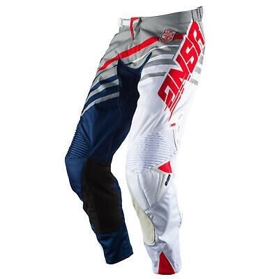 Answer Racing Cross Hose Alpha Grau/Weiß/Navy