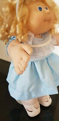Vintage Cabbage Patch Blonde Cornsilk Girl Ok Girl 1985